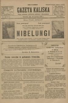 Gazeta Kaliska : pismo codzienne, polityczne, społeczne i ekonomiczne. R.34, nr 22 (28 stycznia 1926) = nr 8251