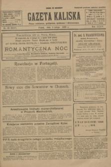 Gazeta Kaliska : pismo codzienne, polityczne, społeczne i ekonomiczne. R.34, nr 28 (5 lutego 1926) = nr 8257