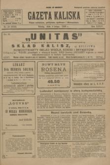 Gazeta Kaliska : pismo codzienne, polityczne, społeczne i ekonomiczne. R.34, nr 29 (6 lutego 1926) = nr 8258