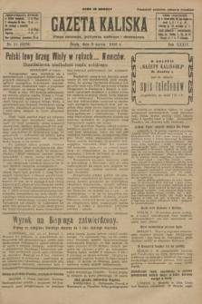 Gazeta Kaliska : pismo codzienne, polityczne, społeczne i ekonomiczne. R.34, nr 51 (3 marca 1926) = nr 8279