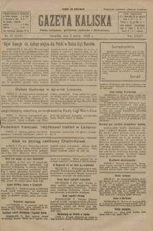 Gazeta Kaliska : pismo codzienne, polityczne, społeczne i ekonomiczne. R.34, nr 52 (4 marca 1926) = nr 8280