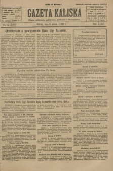 Gazeta Kaliska : pismo codzienne, polityczne, społeczne i ekonomiczne. R.34, nr 54 (6 marca 1926) = nr 8282