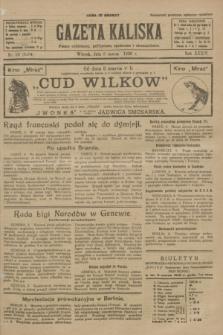 Gazeta Kaliska : pismo codzienne, polityczne, społeczne i ekonomiczne. R.34, nr 56 (9 marca 1926) = nr 8284