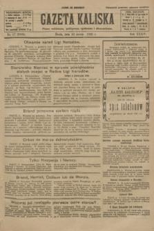 Gazeta Kaliska : pismo codzienne, polityczne, społeczne i ekonomiczne. R.34, nr 57 (10 marca 1926) = nr 8285