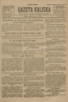 Gazeta Kaliska : pismo codzienne, polityczne, społeczne i ekonomiczne. R.34, nr 59 (12 marca 1926) = nr 8287