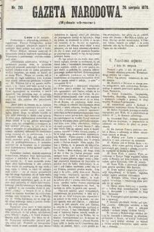 Gazeta Narodowa (wydanie wieczorne). 1870, nr210
