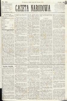 Gazeta Narodowa. 1870, nr211