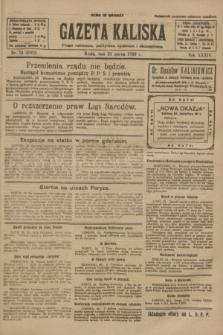 Gazeta Kaliska : pismo codzienne, polityczne, społeczne i ekonomiczne. R.34, nr 74 (31 marca 1926) = nr 8302