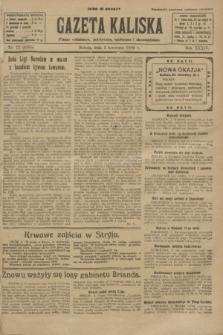 Gazeta Kaliska : pismo codzienne, polityczne, społeczne i ekonomiczne. R.34, nr 77 (3 kwietnia 1926) = nr 8305