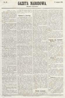 Gazeta Narodowa (wydanie wieczorne). 1870, nr211
