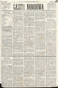 Gazeta Narodowa. 1870, nr212