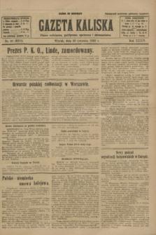Gazeta Kaliska : pismo codzienne, polityczne, społeczne i ekonomiczne. R.34, nr 90 (20 kwietnia 1926) = nr 8318
