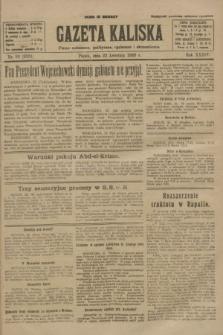 Gazeta Kaliska : pismo codzienne, polityczne, społeczne i ekonomiczne. R.34, nr 93 (23 kwietnia 1926) = nr 8321