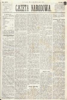 Gazeta Narodowa. 1870, nr213