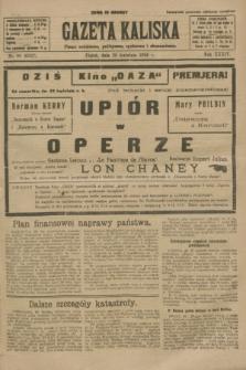 Gazeta Kaliska : pismo codzienne, polityczne, społeczne i ekonomiczne. R.34, nr 99 (30 kwietnia 1926) = nr 8327