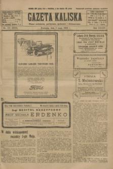 Gazeta Kaliska : pismo codzienne, polityczne, społeczne i ekonomiczne. R.34, nr 101 (2 maja 1926) = nr 8329