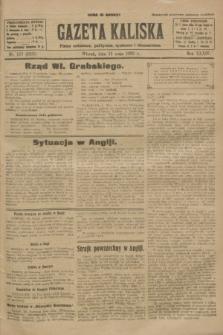 Gazeta Kaliska : pismo codzienne, polityczne, społeczne i ekonomiczne. R.34, nr 107 (11 maja 1926) = nr 8335