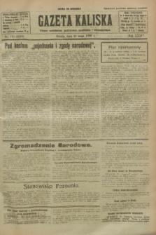 Gazeta Kaliska : pismo codzienne, polityczne, społeczne i ekonomiczne. R.34, nr 116 (22 maja 1926) = nr 8344
