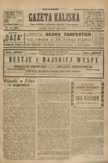 Gazeta Kaliska : pismo codzienne, polityczne, społeczne i ekonomiczne. R.34, nr 119 (27 maja 1926) = nr 8347