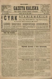 Gazeta Kaliska : pismo codzienne, polityczne, społeczne i ekonomiczne. R.34, nr 121 (29 maja 1926) = nr 8349