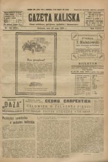 Gazeta Kaliska : pismo codzienne, polityczne, społeczne i ekonomiczne. R.34, nr 122 (30 maja 1926) = nr 8350