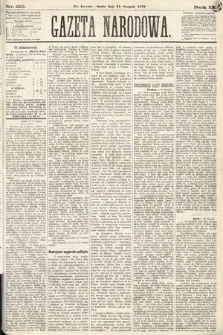 Gazeta Narodowa. 1870, nr215