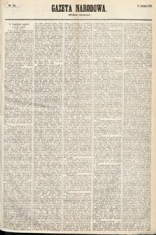 Gazeta Narodowa (wydanie wieczorne). 1870, nr215