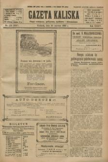 Gazeta Kaliska : pismo codzienne, polityczne, społeczne i ekonomiczne. R.34, nr 139 (20 czerwca 1926) = nr 8367