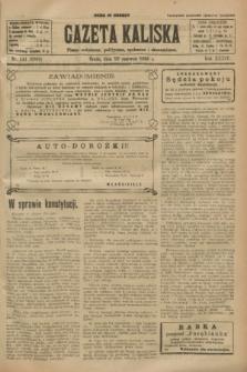 Gazeta Kaliska : pismo codzienne, polityczne, społeczne i ekonomiczne. R.34, nr 141 (23 czerwca 1926) = nr 8369