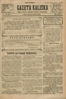 Gazeta Kaliska : pismo codzienne, polityczne, społeczne i ekonomiczne. R.34, nr 143 (25 czerwca 1926) = nr 8371