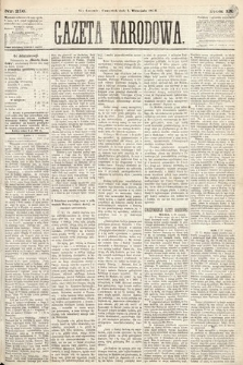 Gazeta Narodowa. 1870, nr216