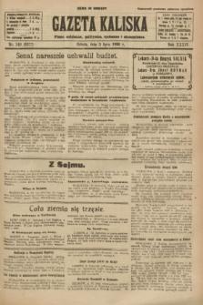 Gazeta Kaliska : pismo codzienne, polityczne, społeczne i ekonomiczne. R.34, nr 149 (3 lipca 1926) = nr 8377