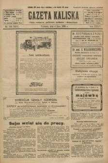 Gazeta Kaliska : pismo codzienne, polityczne, społeczne i ekonomiczne. R.34, nr 150 (4 lipca 1926) = nr 8378