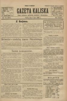Gazeta Kaliska : pismo codzienne, polityczne, społeczne i ekonomiczne. R.34, nr 154 (9 lipca 1926) = nr 8382