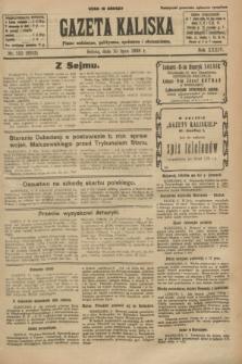 Gazeta Kaliska : pismo codzienne, polityczne, społeczne i ekonomiczne. R.34, nr 155 (10 lipca 1926) = nr 8383