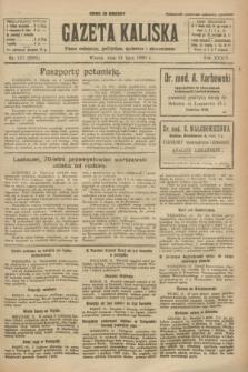 Gazeta Kaliska : pismo codzienne, polityczne, społeczne i ekonomiczne. R.34, nr 157 (13 lipca 1926) = nr 8385