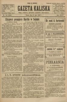 Gazeta Kaliska : pismo codzienne, polityczne, społeczne i ekonomiczne. R.34, nr 164 (21 lipca 1926) = nr 8392