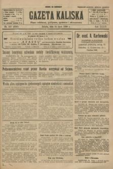Gazeta Kaliska : pismo codzienne, polityczne, społeczne i ekonomiczne. R.34, nr 167 (24 lipca 1926) = nr 8395