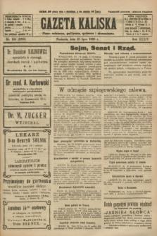 Gazeta Kaliska : pismo codzienne, polityczne, społeczne i ekonomiczne. R.34, nr 168 (25 lipca 1926) = nr 8396