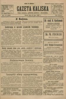 Gazeta Kaliska : pismo codzienne, polityczne, społeczne i ekonomiczne. R.34, nr 170 (28 lipca 1926) = nr 8398