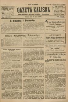 Gazeta Kaliska : pismo codzienne, polityczne, społeczne i ekonomiczne. R.34, nr 172 (30 lipca 1926) = nr 8400