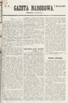 Gazeta Narodowa (wydanie wieczorne). 1870, nr217