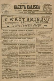 Gazeta Kaliska : pismo codzienne, polityczne, społeczne i ekonomiczne. R.34, nr 183 (12 sierpnia 1926) = nr 8411