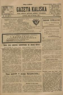 Gazeta Kaliska : pismo codzienne, polityczne, społeczne i ekonomiczne. R.34, nr 189 (19 sierpnia 1926) = nr 8417