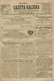 Gazeta Kaliska : pismo codzienne, polityczne, społeczne i ekonomiczne. R.34, nr 190 (20 sierpnia 1926) = nr 8418