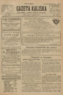 Gazeta Kaliska : pismo codzienne, polityczne, społeczne i ekonomiczne. R.34, nr 200 (1 września 1926) = nr 8428