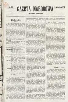 Gazeta Narodowa (wydanie wieczorne). 1870, nr218