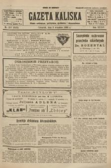 Gazeta Kaliska : pismo codzienne, polityczne, społeczne i ekonomiczne. R.34, nr 207 (9 września 1926) = nr 8435