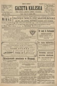 Gazeta Kaliska : pismo codzienne, polityczne, społeczne i ekonomiczne. R.34, nr 208 (10 września 1926) = nr 8436