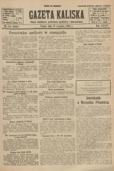 Gazeta Kaliska : pismo codzienne, polityczne, społeczne i ekonomiczne. R.34, nr 214 (17 września 1926) = nr 8442